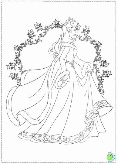 Disney Princess Christmas Coloring Pages 8