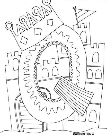 Doodle Coloring Pages Quotes 1