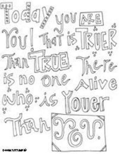 Doodle Coloring Pages Quotes 14