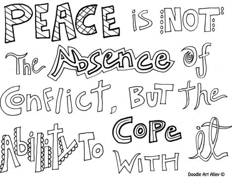 Doodle Coloring Pages Quotes 17