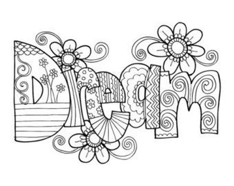 Doodle Coloring Pages Quotes 20
