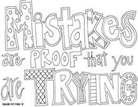 Doodle Coloring Pages Quotes 24