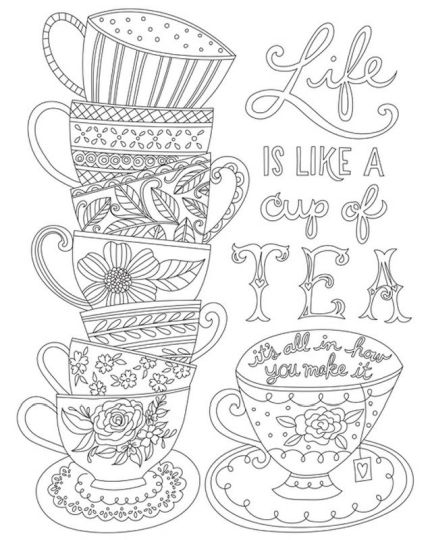 Doodle Coloring Pages Quotes 27