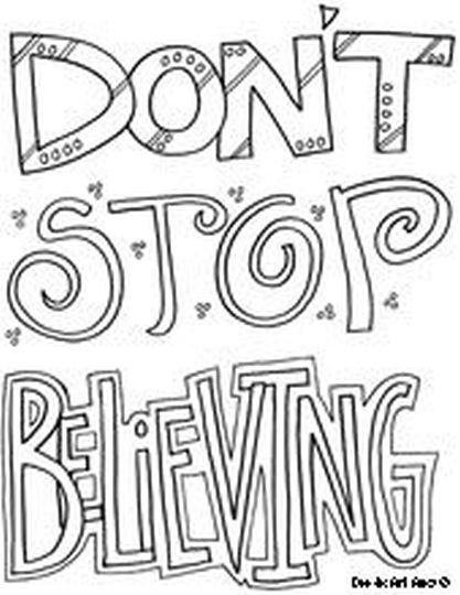 Doodle Coloring Pages Quotes 32