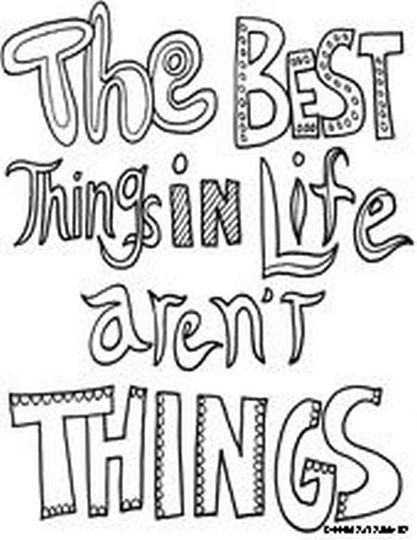 Doodle Coloring Pages Quotes 33