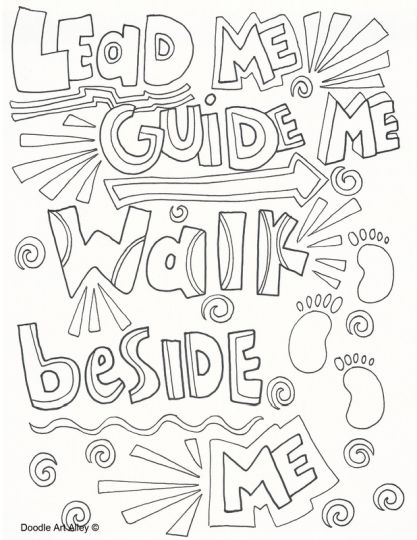Doodle Coloring Pages Quotes 34