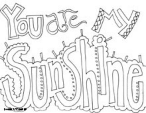 Doodle Coloring Pages Quotes 39