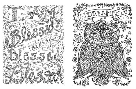 Doodle Coloring Pages Quotes 41
