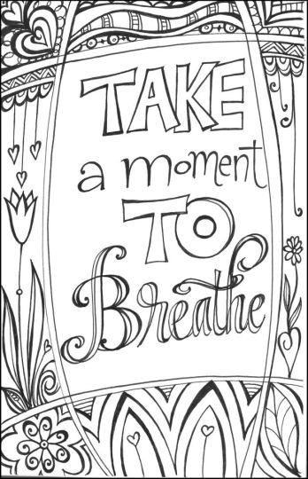Doodle Coloring Pages Quotes 48