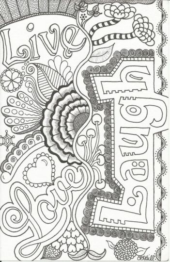 Doodle Coloring Pages Quotes 49