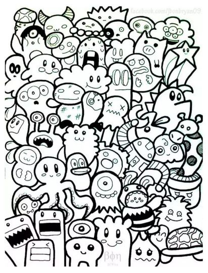 Doodle Coloring Pages Quotes 54