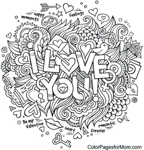 Doodle Coloring Pages Quotes 55