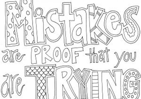 Doodle Coloring Pages Quotes 61