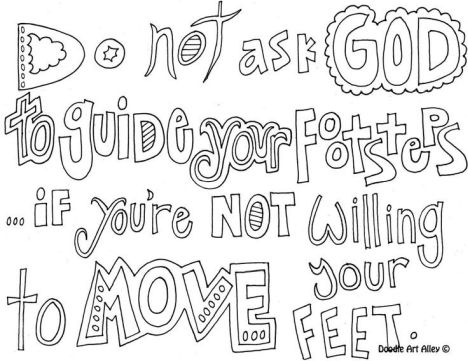 Doodle Coloring Pages Quotes 62