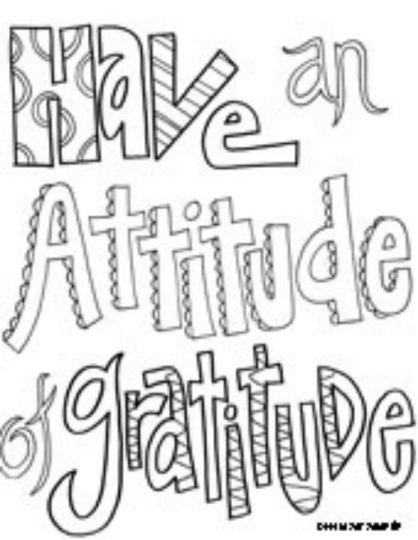 Doodle Coloring Pages Quotes 64