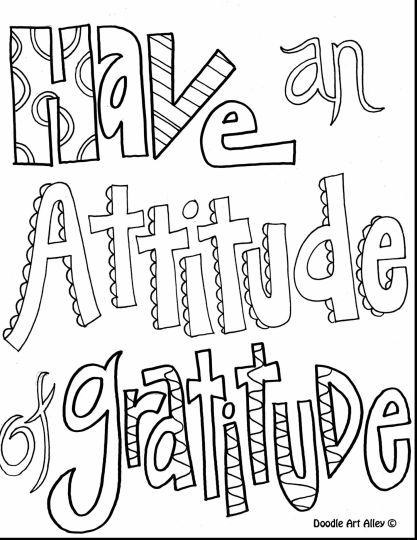 Doodle Coloring Pages Quotes 66