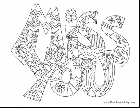 Doodle Coloring Pages Quotes 73