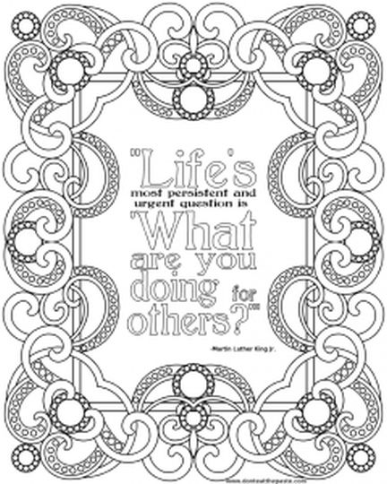 Doodle Coloring Pages Quotes 75