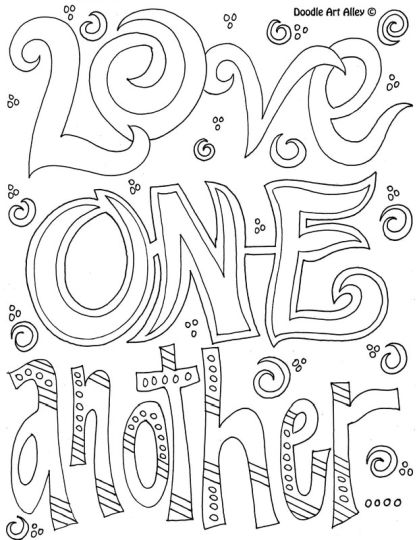 Doodle Coloring Pages Quotes 79