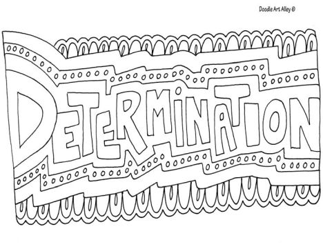 Doodle Coloring Pages Quotes 80