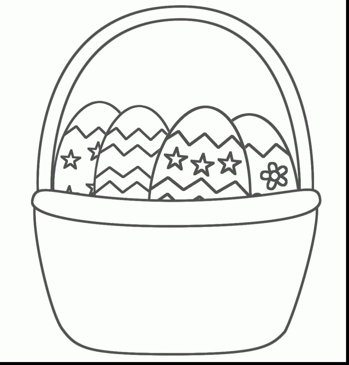 Easter Basket Coloring Pages 10