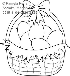 Easter Basket Coloring Pages 17