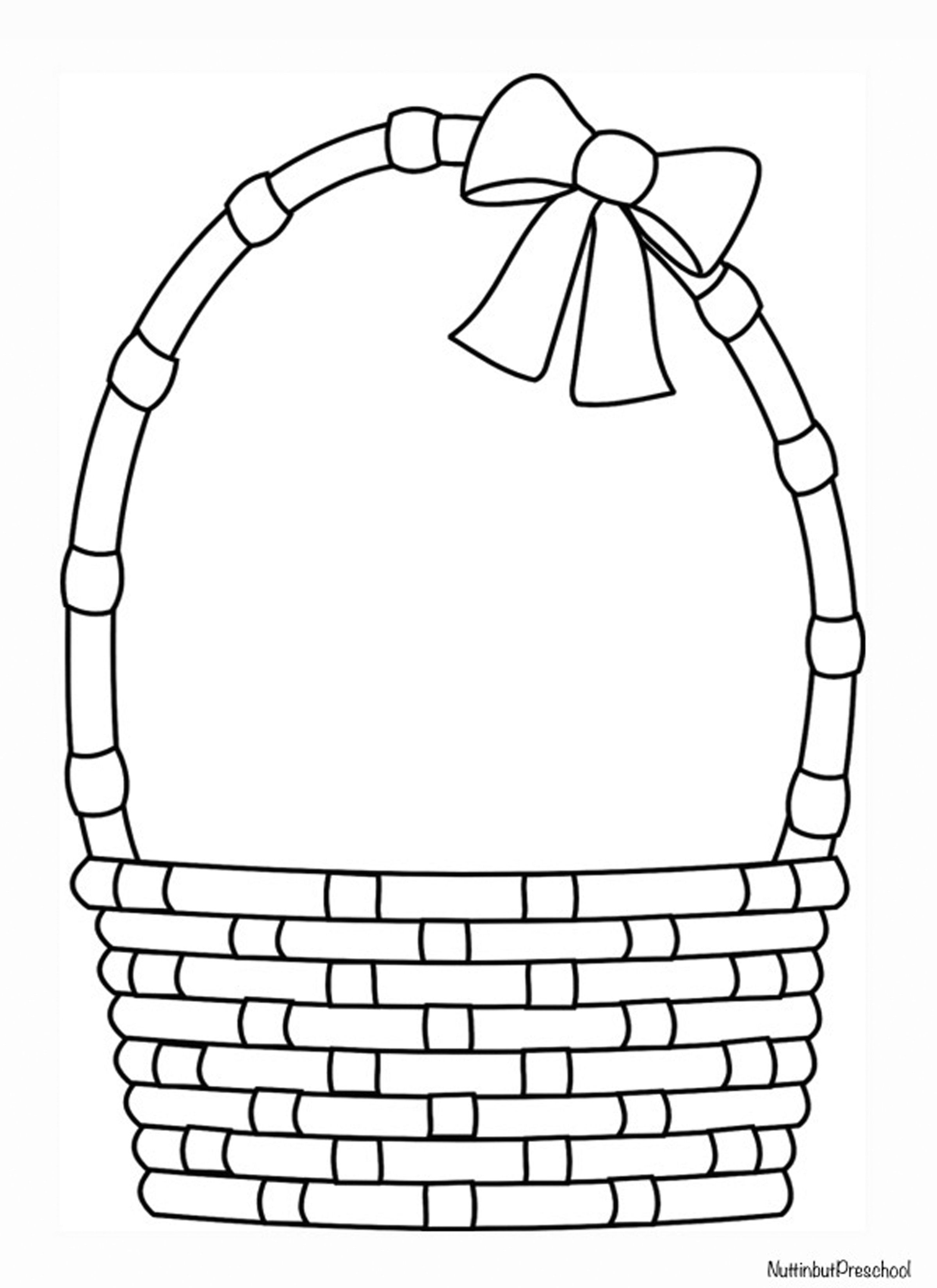 Easter Basket Coloring Pages 28