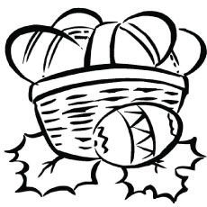 Easter Basket Coloring Pages 32