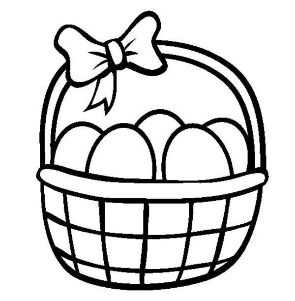Easter Basket Coloring Pages 35