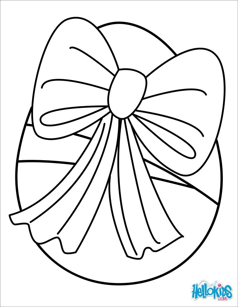 Easter Basket Coloring Pages 42