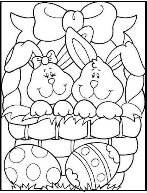 Easter Basket Coloring Pages 51