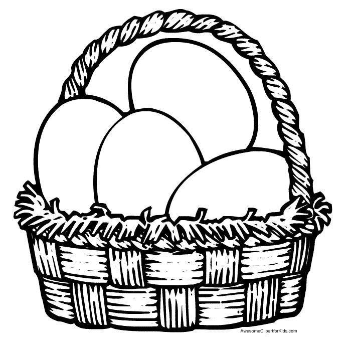 Easter Basket Coloring Pages 57
