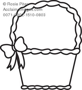 Easter Basket Coloring Pages 8
