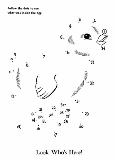 Easter Bunny Dot To Dot 26
