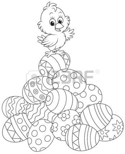 Easter Chick Coloring Pages 28