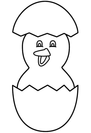 Easter Chick Coloring Pages 33