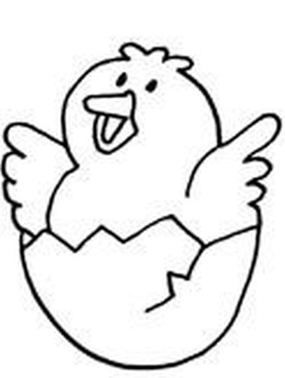 Easter Chick Coloring Pages 34