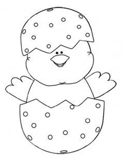 Easter Chick Coloring Pages 37