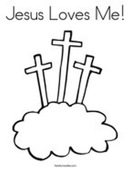 He Is Risen Coloring Page 15