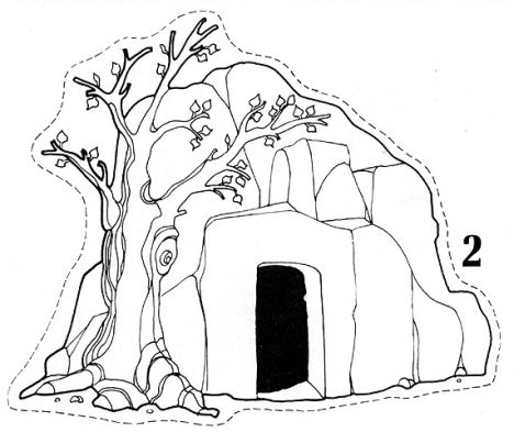 He Is Risen Coloring Page 17