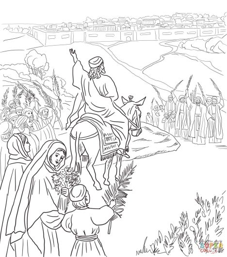 He Is Risen Coloring Page 20