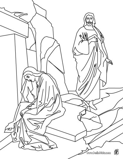 He Is Risen Coloring Page 23