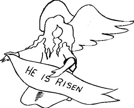 He Is Risen Coloring Page 24
