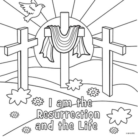 He Is Risen Coloring Page 28