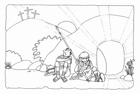 He Is Risen Coloring Page 29