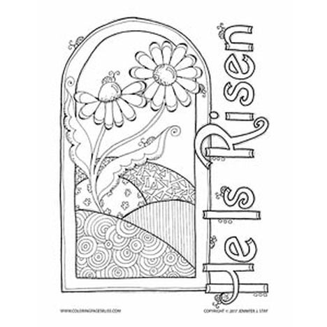 He Is Risen Coloring Page 31