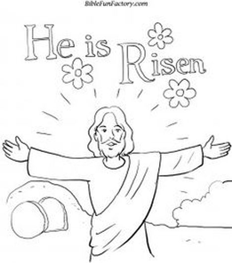 He Is Risen Coloring Page 35