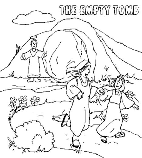 He Is Risen Coloring Page 40