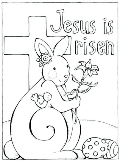 He Is Risen Coloring Page 43