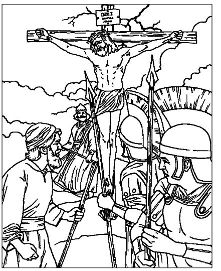 He Is Risen Coloring Page 44